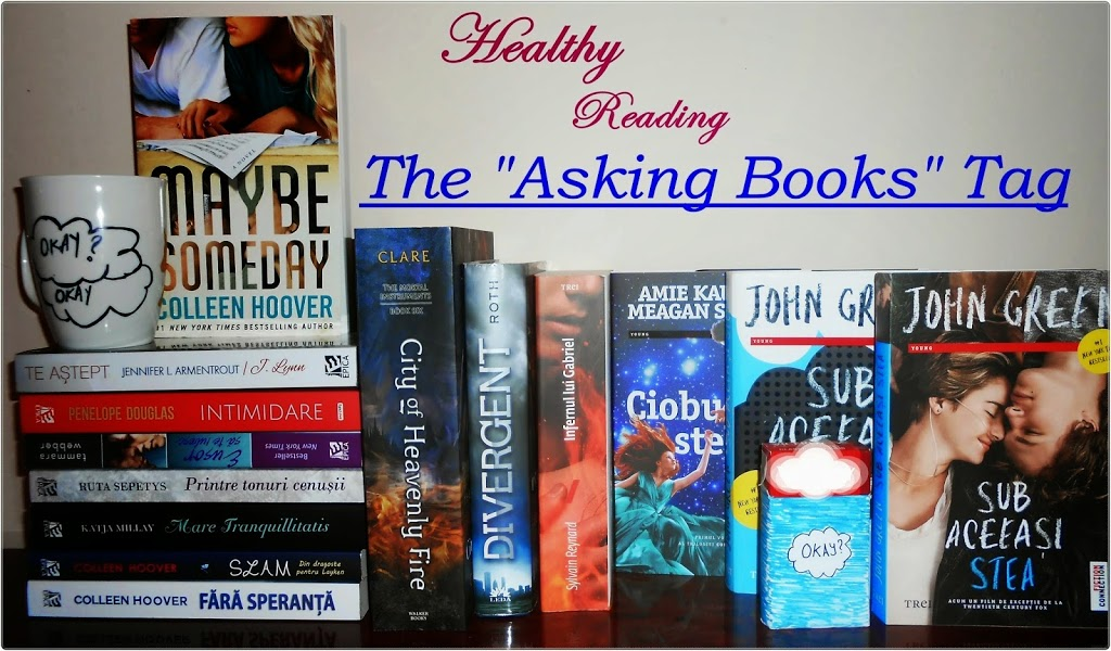 The asking books tag