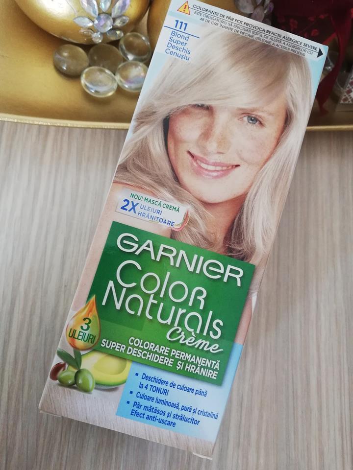 Am încercat și Vopseaua Garnier Color Naturals Pagini De Zi Si