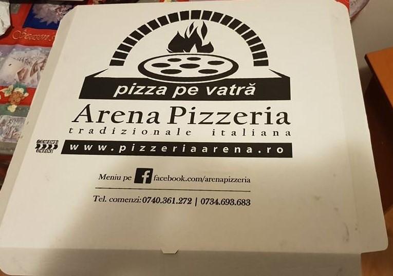 Poftă de pizza și o surpriză plăcută de la Arena!